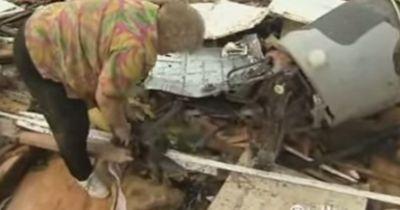 Ein Tornado nahm ihr das Haus und den geliebten Hund