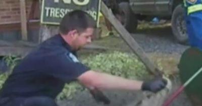 Officer widersetzte sich einem Befehl und wurde zum Helden