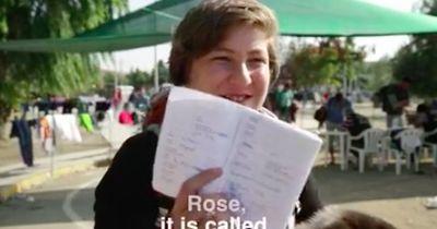 Ein Flüchtlingsjunge läuft 500km