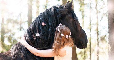 7 Fotos, die beweisen, dass Pferde viel schöneres Haar haben als du