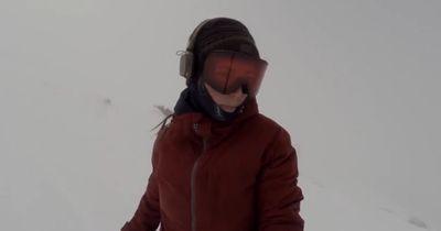 Diese Snowboarderin wäre fast gestorben, ohne es zu merken