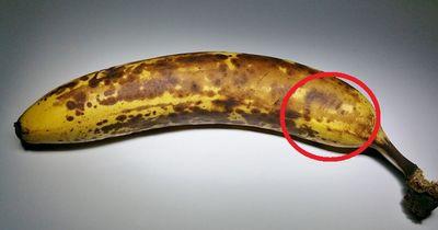 In dieser Banane lauert der schlimmste Albtraum