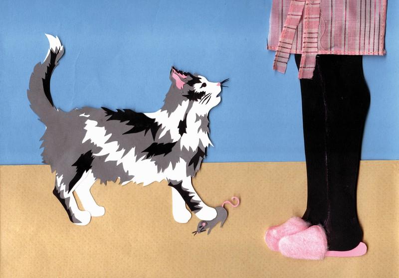 Bekommst du von deiner Katze Beute, will sie dich versorgen, weil sie dich sehr gerne hat.
